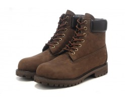 Timberland Dark Brown с мехом