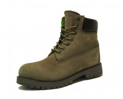 Timberland Dark Grey Mens с мехом